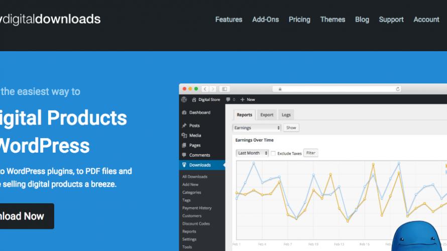 WordPressのプラグイン「Easy Digital Downloads」を使ってネットで販売システムを作る方法